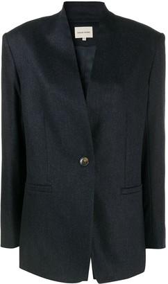 LOULOU STUDIO Folaca inverted lapel jacket