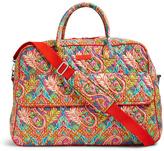 Vera Bradley Paisley in Paradise Grand Traveler Duffel Bag