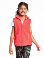 Old Navy Go-Warm Micro Performance Fleece Vest for Girls