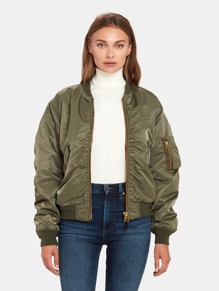 Moussy Oversized MA-1 Bomber Jacket