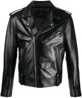 Givenchy small logo biker jacket