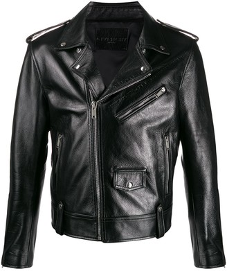 Givenchy Small Logo Biker Jacket