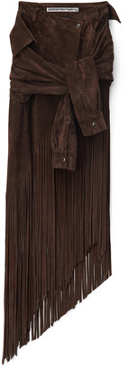 Collection Tie Skirt With Fringe