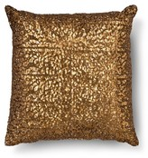 Xhilaration All Over Sequin Decorative Pillow - Bronze (Square