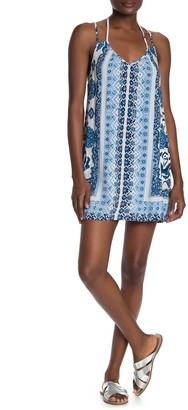 Angie Thin Strap Printed Dress