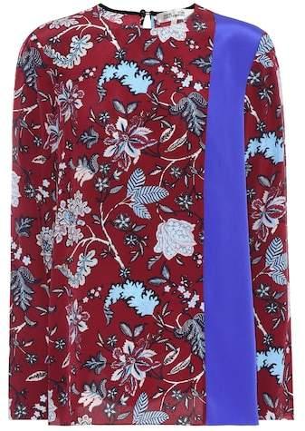 Diane von Furstenberg Silk crêpe de chine top