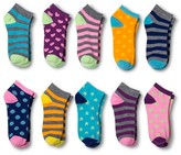 Modern Heritage Women's Fashion Socks 10-Pack - Gray One Size