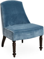 Miles Talbott Collection Adalyn Chair, Niagara Velvet