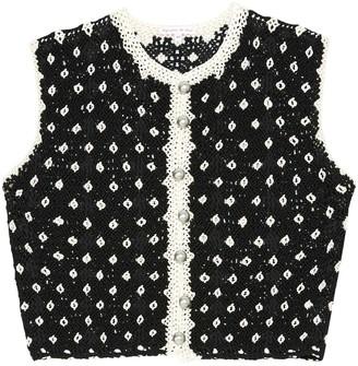 Olympia Le-Tan Olympia Le Tan Black Viscose Knitwear