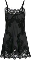 Dolce & Gabbana lace mini slip dress