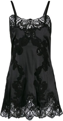 Dolce & Gabbana lace mini slip dress