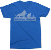 Mighty Fine Men's Lion King Hakuna Matata T-Shirt