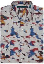 Perry Ellis Exclusive Paint Print Shirt