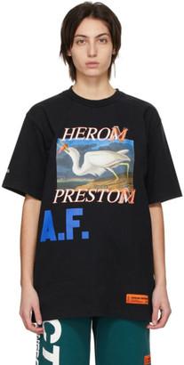Heron Preston Black Heron A.F. T-Shirt
