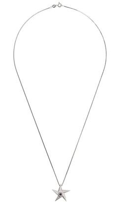 Black Diamond Daou 18kt white gold star pendant