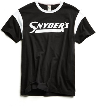 Todd Snyder + Champion Snyder's Ringer Graphic T-Shirt in Black