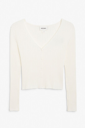 Monki Fitted cardigan