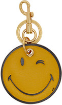 Anya Hindmarch Yellow Wink Keychain