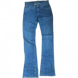 Ralph Lauren Blue Cotton - elasthane Jeans for Women