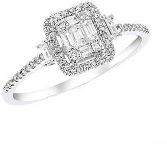 Diana M Fine Jewelry 14K 0.31 Ct. Tw. Diamond Ring