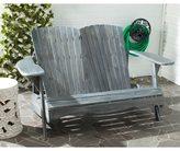 Safavieh Outdoor Living Hantom Adirondack Ash Grey Acacia Wood Bench