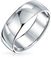 Bling Jewelry Sterling Silver 6mm Classic Wedding Band Ring