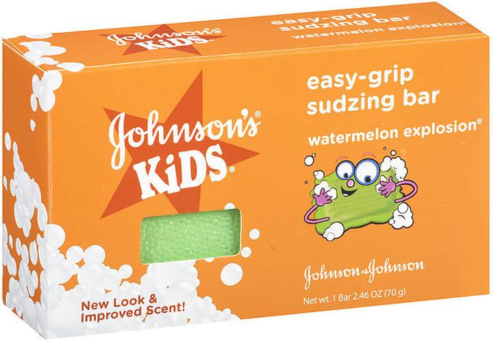 Johnson's Kids Easy-Grip Sudzing Bar Watermelon Explosion