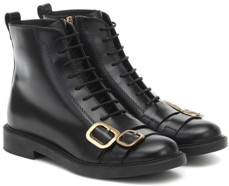 Tod's Embellished leather boots