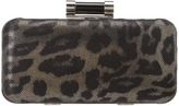 Jessica McClintock Leopard EW Minaudi re (Leopard Multi) - Bags and Luggage