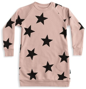Nununu Baby's, Little Girl's & Girl's Star Sweater Dress