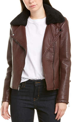 French Connection Asymmetrical Moto Jacket