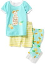 Old Navy 3-Piece Lemon-Graphic Sleep Set for Toddler & Baby