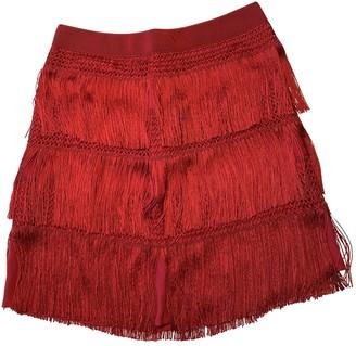 Alberta Ferretti Red Skirt for Women