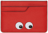 Anya Hindmarch Red Eyes Card Holder