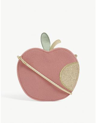 Kids glittery apple bag