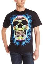 Liquid Blue Men's Plus-Size Sugar Skull T-Shirt