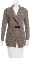 Magaschoni Wool-Blend Notch-Lapel Cardigan