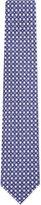 Salvatore Ferragamo Diamond Horseshoe Silk Tie