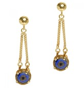 Mela Artisans Reef Runner In Blue Drop Earring
