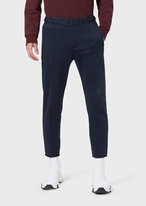 Giorgio Armani Fleece Trousers With Elasticated Waist