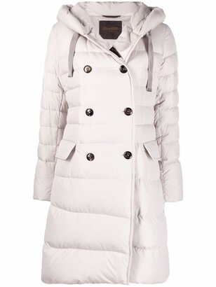 Moorer Double-Breasted Padded Coat