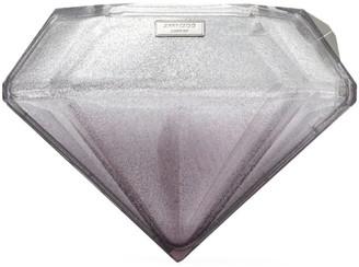 Jimmy Choo Glitter Gem Minaudiere Clutch Bag