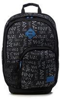 Animal Black Logo Print Backpack
