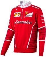 Puma Ferrari Men's Team Half Zip Fleece Sweater