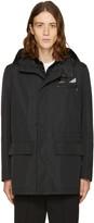 Fendi Black Bag Bugs Hooded Jacket