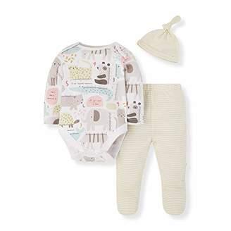 Mothercare Baby IO U M&D 3PC Set Bodysuit,(Size:62)