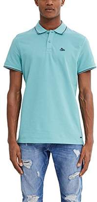 Esprit edc by Men's 047CC2K068 Polo Shirt, Aqua Green 380, M