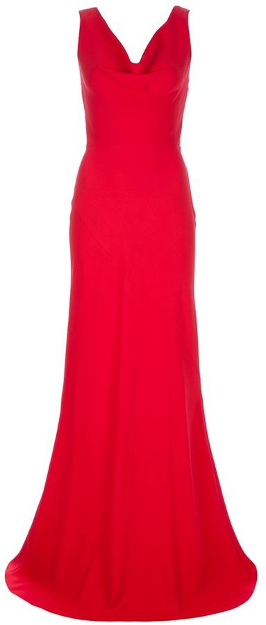 Valentino bow detail dress