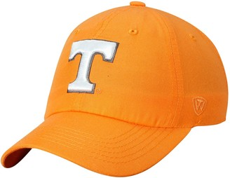 Men's Top of the World Tennessee Orange Tennessee Volunteers Primary Logo Staple Adjustable Hat