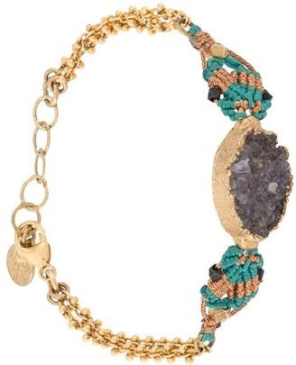 Gas Bijoux Stone Pendant Bracelet